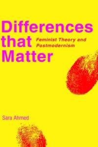 Differences that Matter af Sara Ahmed