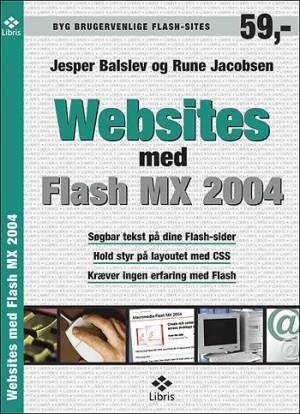 Websites med flash MX 2004 af Rune Jacobsen