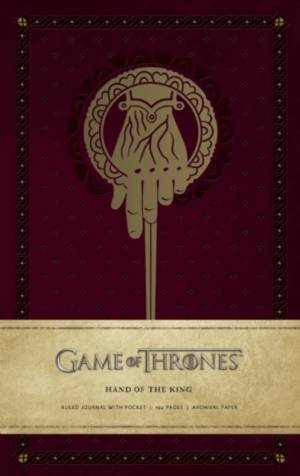 Game of Thrones: Hand of the King Hardcover Ruled Journal af . HBO